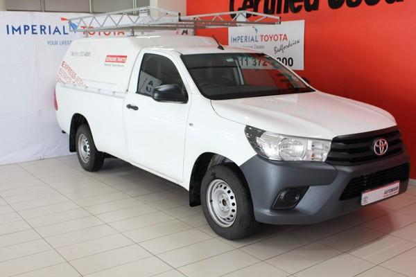 2019 Toyota Hilux 2.4 GD Single Cab Bakkie Gauteng Edenvale_0
