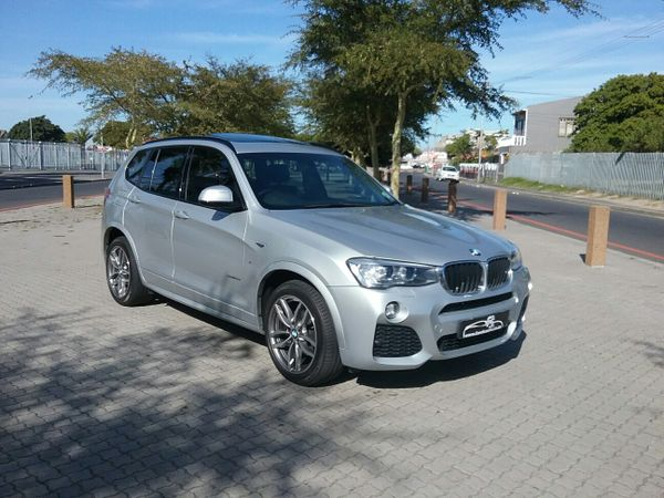 2015 BMW X3 Xdrive20d  M-sport At  Western Cape Cape Town_0