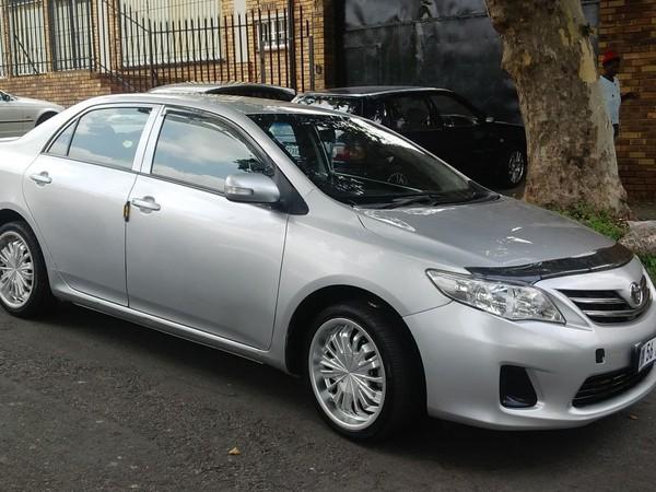 2009 Toyota Corolla 1.6 Professional  Gauteng Johannesburg_0