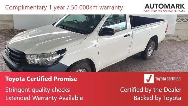 2019 Toyota Hilux 2.4 GD AC Single Cab Bakkie Eastern Cape Uitenhage_0