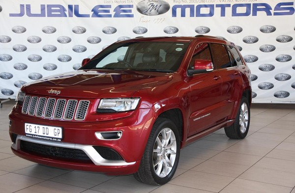 2016 Jeep Grand Cherokee 3.6 Summit Gauteng Springs_0