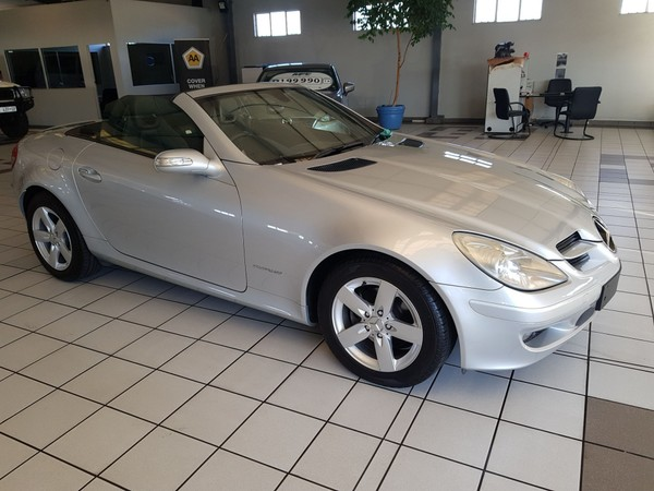 2005 Mercedes-Benz SLK-Class Slk 200 Kompressor At  Gauteng Roodepoort_0