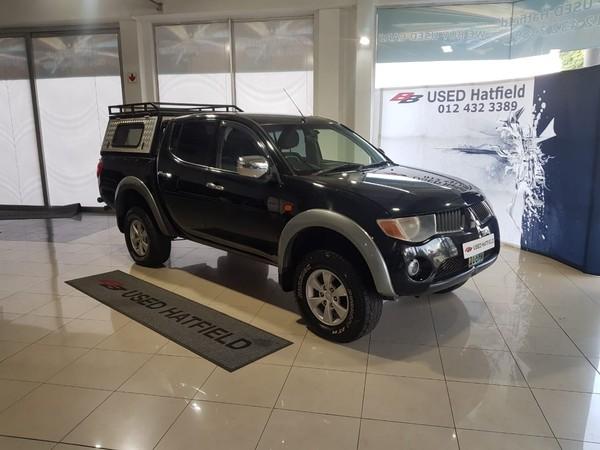 2008 Mitsubishi Triton 2.5 Di-d 4x4 Pu Dc  Gauteng Hatfield_0