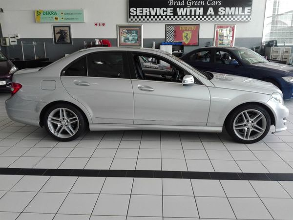 2013 Mercedes-Benz C-Class C200 CDI BE AT Gauteng Edenvale_0