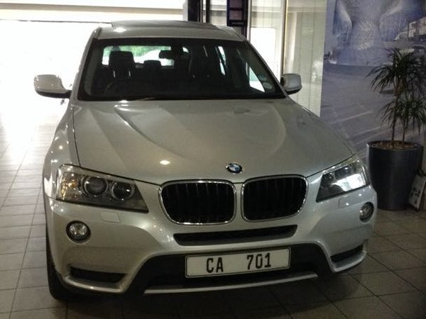 2011 BMW X3 Xdrive20d At Call Kent 079 899 2793 Western Cape Claremont_0
