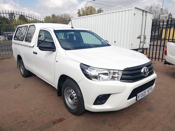2017 Toyota Hilux 2.4 GD-6 RB SRX Single Cab Bakkie Gauteng Bramley_0