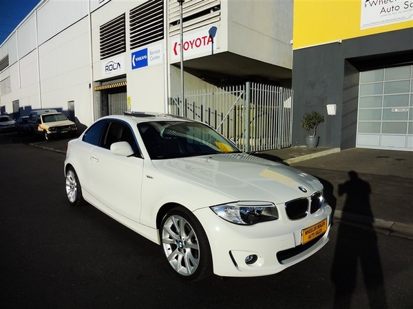 2013 BMW 1 Series 125i Coupe At  Western Cape Strand_0