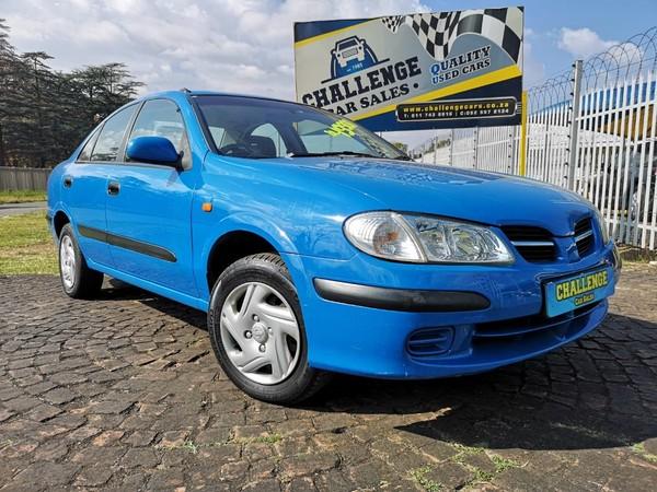 2002 Nissan Almera 1.6 Luxury h15h26  Gauteng Brakpan_0