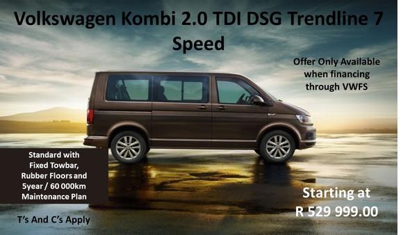 2019 Volkswagen Kombi 2.0 TDi DSG 103kw Trendline Gauteng Springs_0