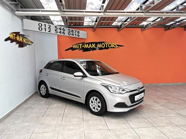 2016 Hyundai i20 1.2 Motion Gauteng Pretoria_0