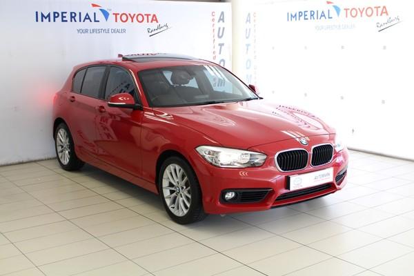 2016 BMW 1 Series 118i 5DR f20 Gauteng Bryanston_0