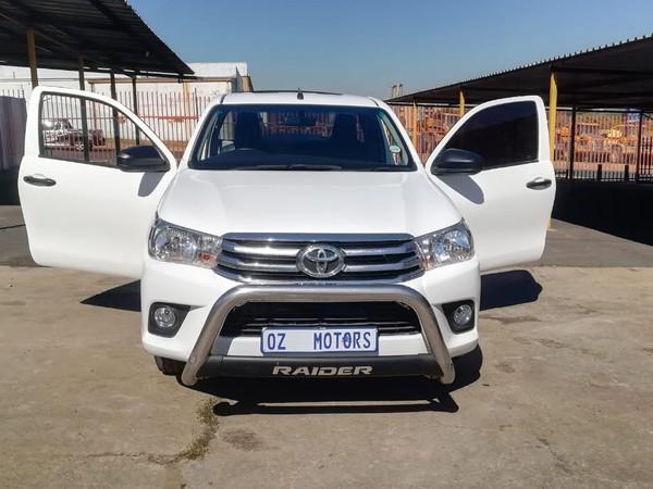 2017 Toyota Hilux 2.4 GD AC Single Cab Bakkie Gauteng Sandton_0
