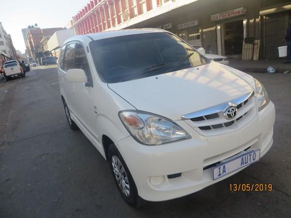 2011 Toyota Avanza 1.5 Tx  Gauteng Johannesburg_0