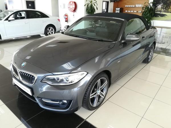 2016 BMW 2 Series 220i Convertible Sport Line Auto F23 Gauteng Boksburg_0