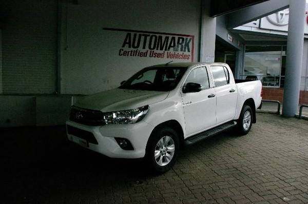 2018 Toyota Hilux 2.4 GD-6 SRX 4X4 Double Cab Bakkie Auto Eastern Cape King Williams Town_0