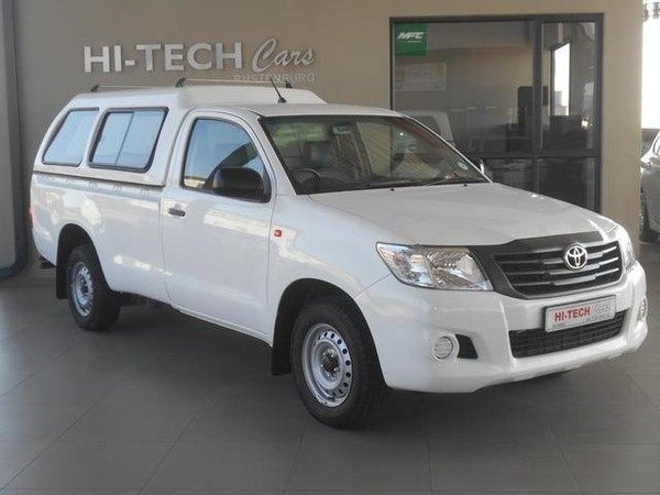 2015 Toyota Hilux 2.5 D-4d S Pu Sc with CANOPY North West Province Rustenburg_0