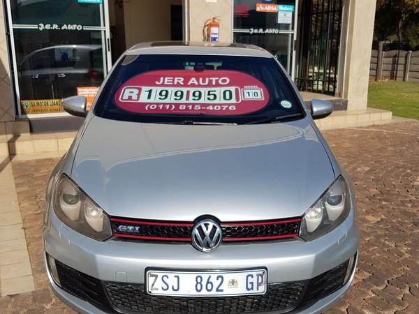 2010 Volkswagen Golf Gti 2.0t Fsi Dsg  Gauteng Springs_0