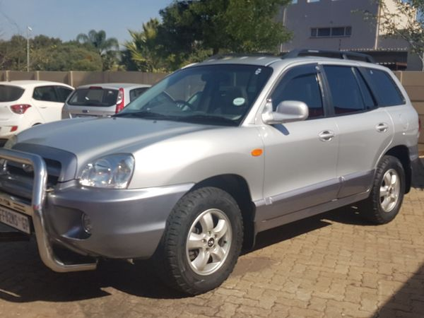 2005 Hyundai Santa Fe 2.7 Gls At  Gauteng Boksburg_0