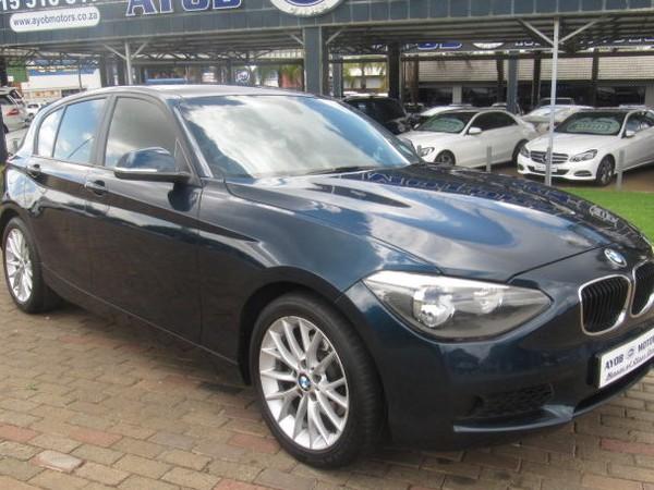 2012 BMW 1 Series 118i 5dr At f20  Limpopo Louis Trichardt_0