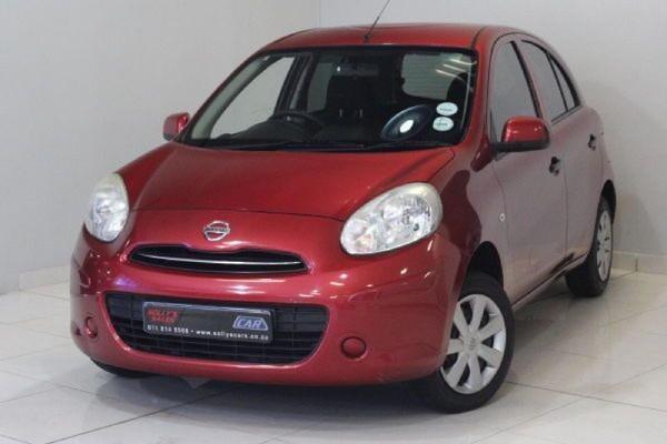 2012 Nissan Micra 1.2 Acenta 5dr Gauteng Nigel_0