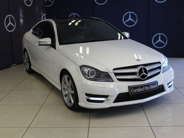 2016 Mercedes-Benz C-Class C180 Be Coupe At  Gauteng Sandton_0