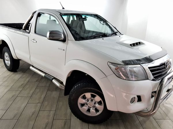 2011 Toyota Hilux 3.0 D-4d Raider Rb Pu Sc  Free State Bloemfontein_0