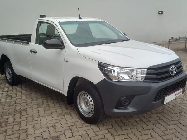 2018 Toyota Hilux 2.4 GD Single Cab Bakkie Gauteng Bronkhorstspruit_0