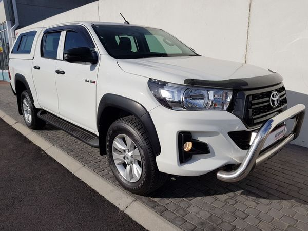 2018 Toyota Hilux 2.4 GD-6 RB SRX Double Cab Bakkie Western Cape Table View_0