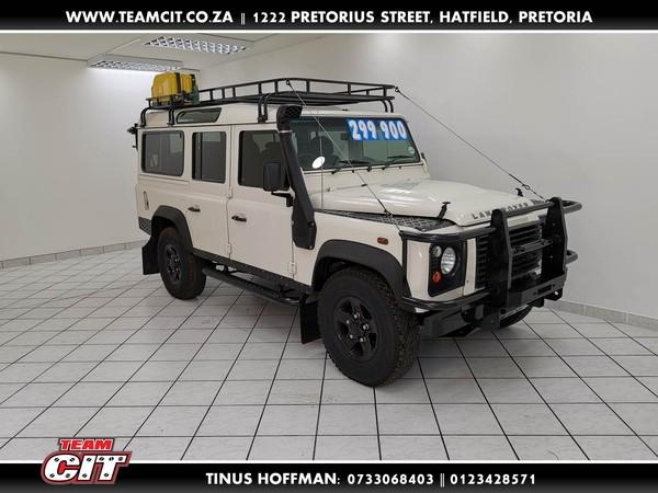2010 Land Rover Defender Puma 110 Sw  Gauteng Pretoria_0