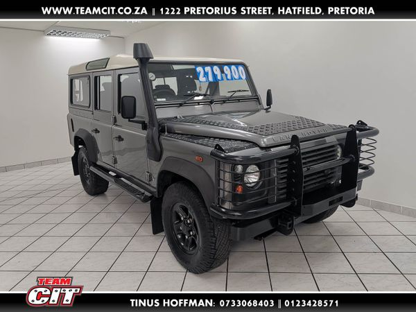 2008 Land Rover Defender Puma 110 Sw  Gauteng Pretoria_0