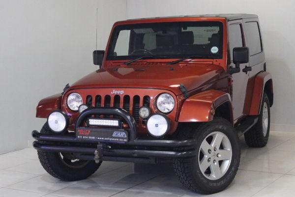 2009 Jeep Wrangler 2.8Crd Sahara 2dr At 4x4 Gauteng Nigel_0