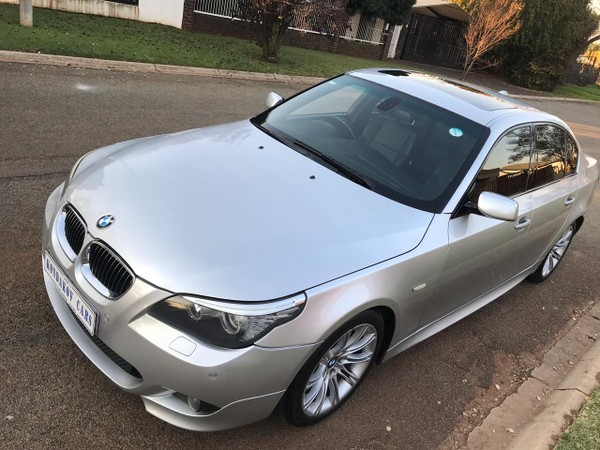 2008 BMW 5 Series 530i At e60  Gauteng Boksburg_0