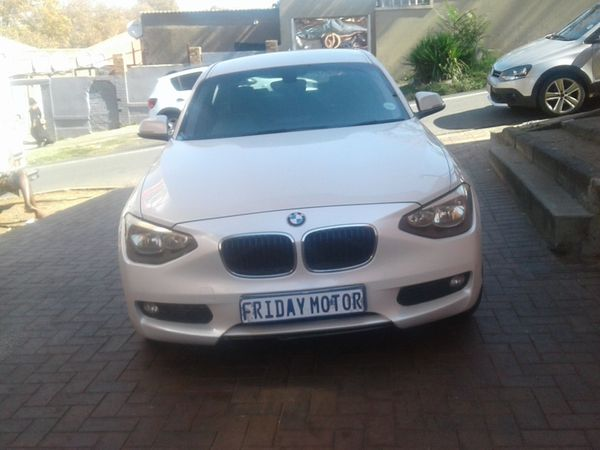 2012 BMW 1 Series 118i 5dr f20  Gauteng Johannesburg_0