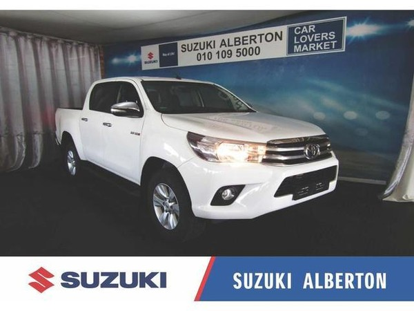 2017 Toyota Hilux 2.8 GD-6 Raider 4x4 Double Cab Bakkie Gauteng Alberton_0