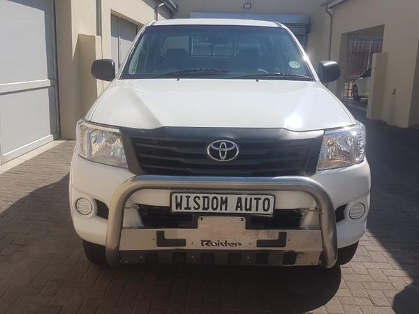 2012 Toyota Hilux 2.5 D-4d Raider Rb Pu Dc  Gauteng Johannesburg_0