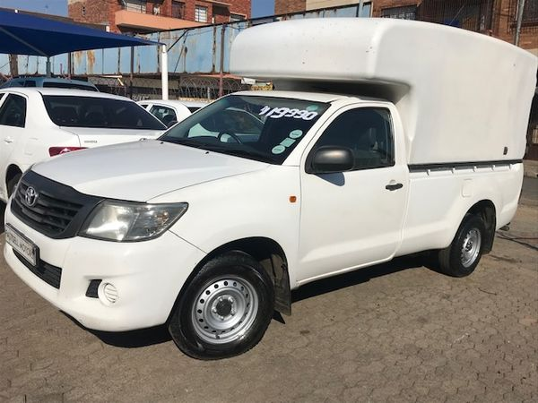 2013 Toyota Hilux 2.0 VVTi Gauteng Roodepoort_0