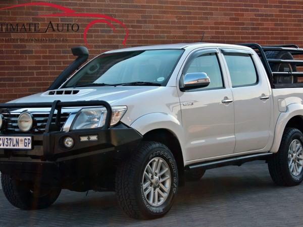 2013 Toyota Hilux 3.0 D-4d Raider 4x4 Pu Dc  Gauteng Vanderbijlpark_0
