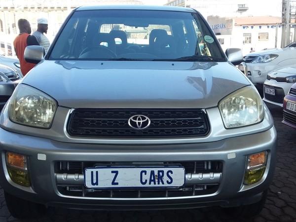 2004 Toyota Rav 4 Rav4 1.8 3dr  Gauteng Johannesburg_0