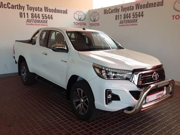 2019 Toyota Hilux 2.8 GD-6 Raider 4x4 Extended Cab Bakkie Gauteng Sandton_0