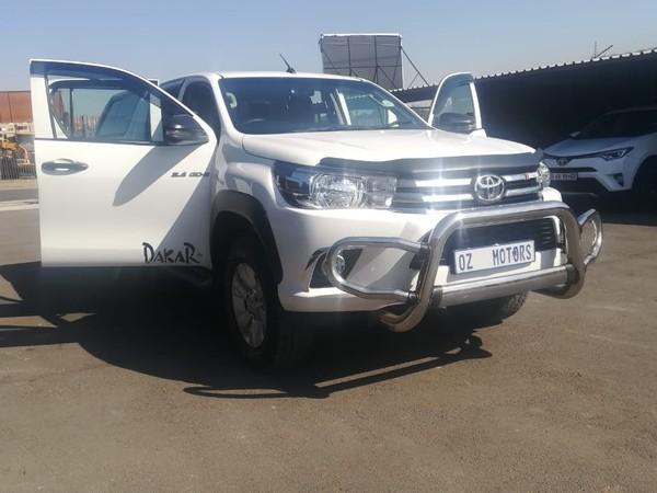 2018 Toyota Hilux 2.4 GD-6 RB SRX Auto Double Cab Bakkie Gauteng Sandton_0