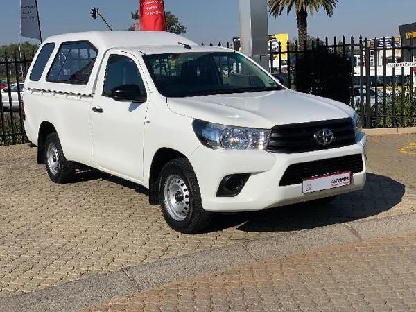 2017 Toyota Hilux 2.4 GD AC Single Cab Bakkie Gauteng Roodepoort_0
