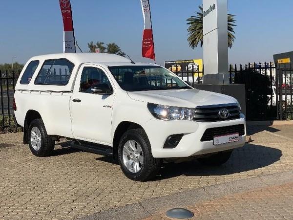 2017 Toyota Hilux 2.4 GD-6 RB SRX Single Cab Bakkie Gauteng Roodepoort_0