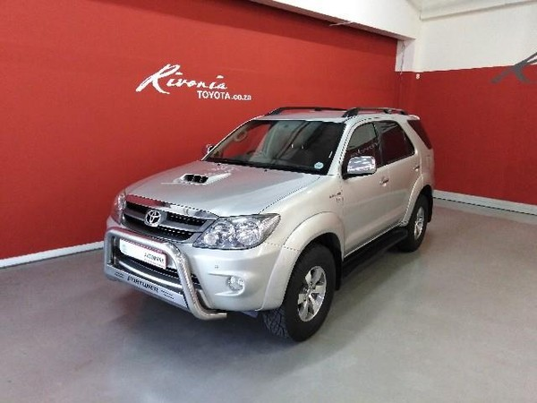 2007 Toyota Fortuner 3.0d-4d Raised Body  Gauteng Sandton_0