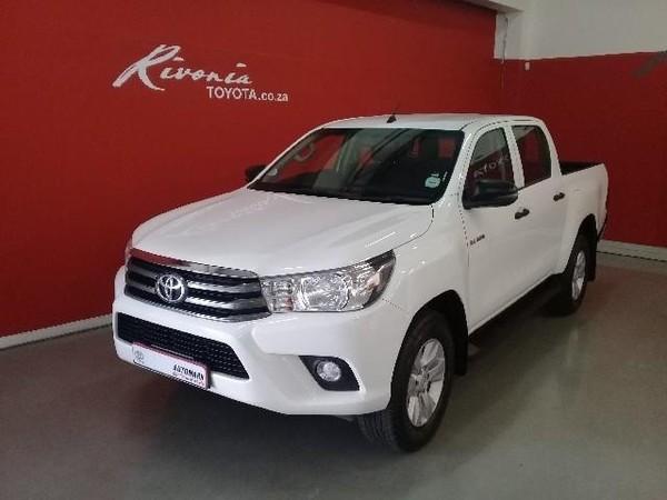 2018 Toyota Hilux 2.4 GD-6 SRX 4X4 Double Cab Bakkie Auto Gauteng Sandton_0