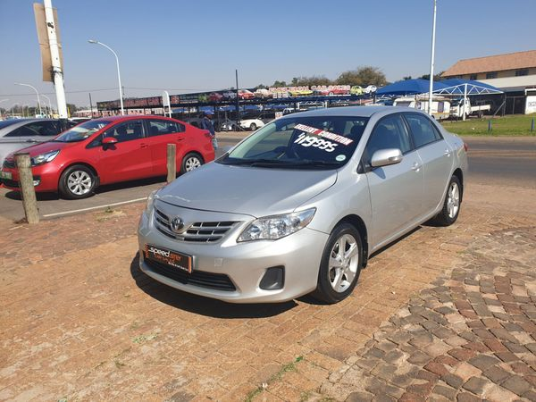 2013 Toyota Corolla 1.6 Advanced  Gauteng Boksburg_0