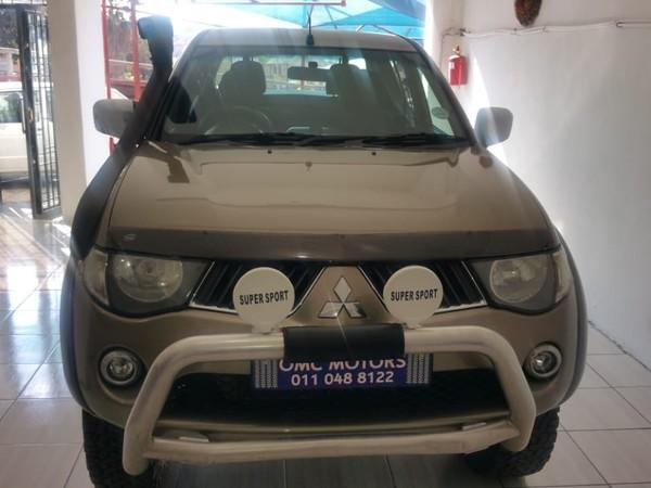 2009 Mitsubishi Triton 2.5 Di-d Club Cab Pu Sc  Gauteng Johannesburg_0