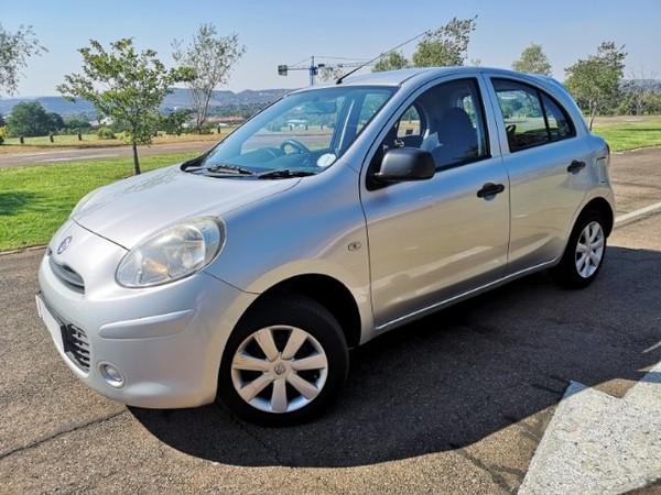 2011 Nissan Micra 1.2 Visia 5dr d82  Gauteng Pretoria_0