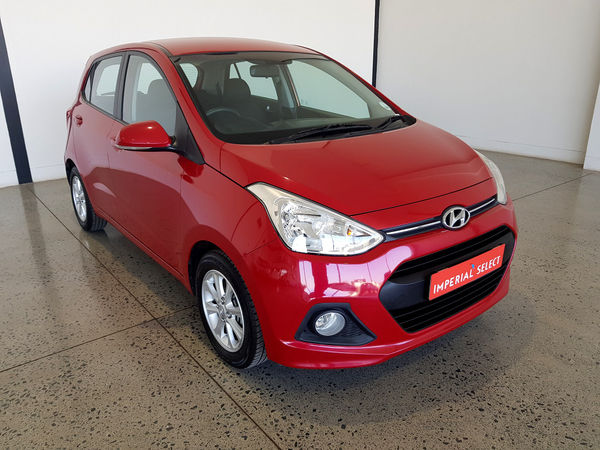 2017 Hyundai i10 GRAND i10 1.25 Fluid Gauteng Vereeniging_0