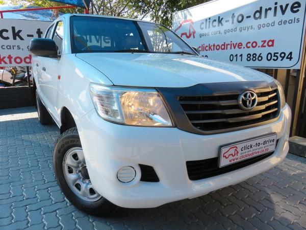 2015 Toyota Hilux 2.5d-4d Srx 4x4 Pu Dc  Gauteng Randburg_0