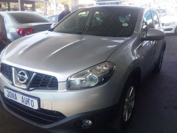 2010 Nissan Qashqai 1.6 Acenta  Gauteng Johannesburg_0